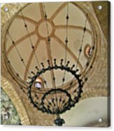 Dome Structure And Decoration Acrylic Print