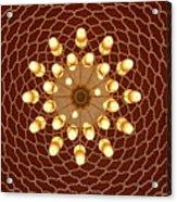 Domed Roof Mandala Acrylic Print