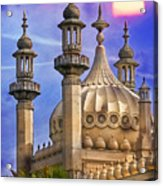 Domes In The Sunset Acrylic Print