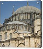 Domes Of Suleymaniye Mosque Acrylic Print