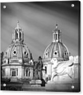 Domes Acrylic Print by Stefano Senise