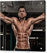 Dominant Testo Review Boost Your Testosterone Level Acrylic Print