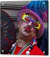 Dominican Day Parade Ny 2010 Acrylic Print
