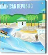 Dominican Republic Horizontal Scene Acrylic Print