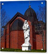 Dominican Sisters Jesus And Mary Acrylic Print