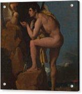Dominique Ingres   Oedipus And The Sphinx Acrylic Print