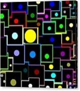 Domino Effect  Acrylic Print