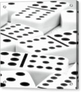 Dominoes II Acrylic Print