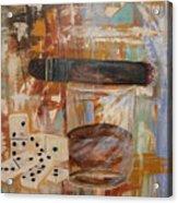 Dominos Night Acrylic Print