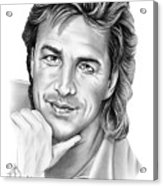 Don Johnson Acrylic Print