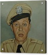 Don Knotts As Barney Fife Acrylic Print by Tresa Crain