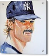 Don Mattingly Acrylic Print
