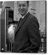 Donald Glaser, American Physicist Acrylic Print