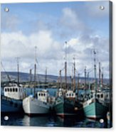 Donegal Fishing Port Acrylic Print