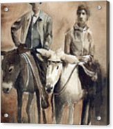 Donkey Ride Acrylic Print