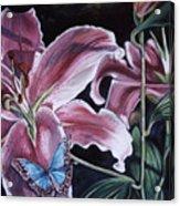 Donna's Flowers Acrylic Print