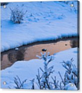 Donnelly Creek In Winter Acrylic Print