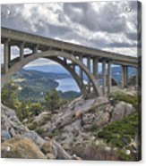 Donner Memorial Bridge Acrylic Print