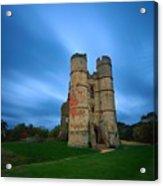 Donnington Castle At Dusk Acrylic Print