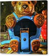 Don't Feed The Bears Acrylic Print