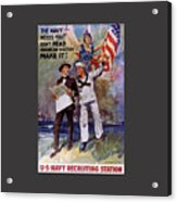 Don't Read American History- Make It Acrylic Print