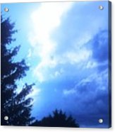 Don't You Love That Blue Acrylic Print