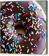 Donut With Sprinkles Acrylic Print