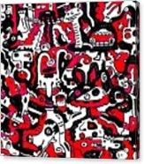 Doodle Acrylic Print