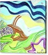 Doodlewat11 Summer Fun Acrylic Print