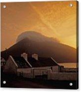 Doogort And Slievemore, Achill Island Acrylic Print