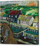 Doolin Ireland Sunset Acrylic Print