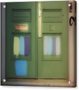 Door 50 Acrylic Print
