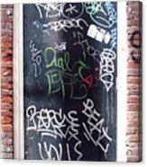 Door Amsterdam Acrylic Print