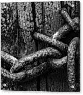 Door Chain Acrylic Print