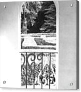Door In The Labirinth Acrylic Print