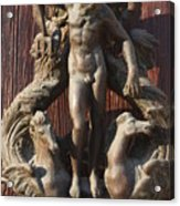 Door Knocker In Venice Acrylic Print