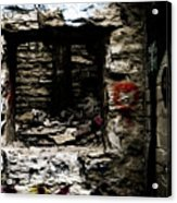 Door Of Rock Acrylic Print