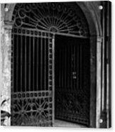 Door Of The Cabildo Acrylic Print