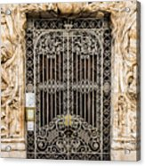 Door - Seville Spain Acrylic Print