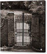 Door To Eternity Acrylic Print