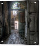 Door To Stairs Acrylic Print
