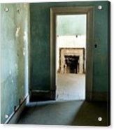 Door To The Past Acrylic Print