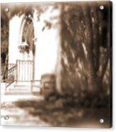 Door To Yesterday Acrylic Print