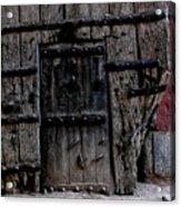 Door Within A Door Acrylic Print