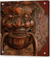 Doorknocker 01 Acrylic Print