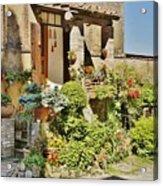 Little Paradise In Tuscany/italy/europe Acrylic Print