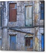 Doors And Windows Acrylic Print