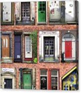 Doors Of England I Acrylic Print