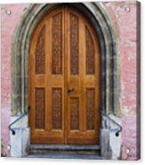 Doors Of Germany Acrylic Print