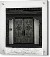 Doors Of Opportunity Acrylic Print
